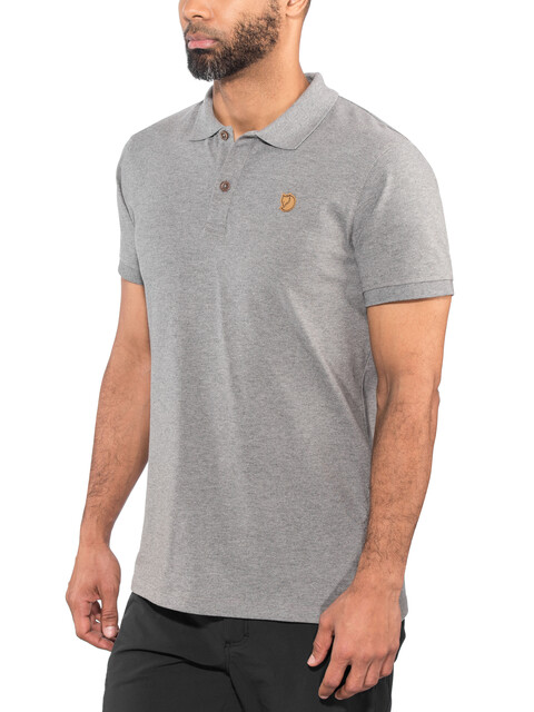 Fjällräven Övik Polo Shirt Men grey